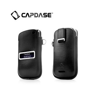 【ポケットタイプケース】 CAPDASE BlackBerry Curve 9380 Smart Pocket Callid  Black/Red
