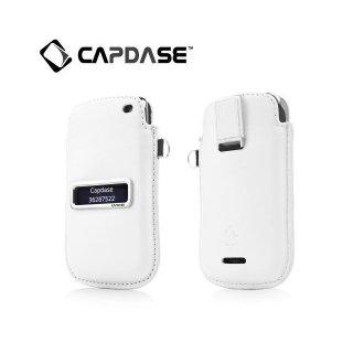 【ポケットタイプケース】 CAPDASE BlackBerry Curve 9380 Smart Pocket Callid  White/Red