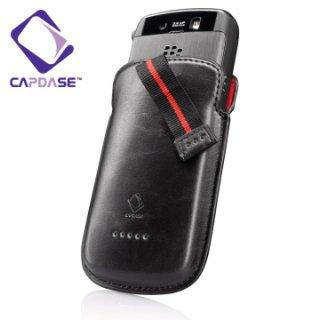 【ポケットタイプケース】 CAPDASE BlackBerry Storm 9500/9530 Smart Pocket Molded Fit  Black