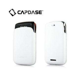 【ポケットタイプケース】 CAPDASE BlackBerry Bold 9790 Smart Pocket Luxe  White/Orange