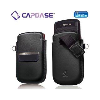 【ポケットタイプケース】 CAPDASE BlackBerry Torch 9800/9810 Smart Pocket Callid  Black/Red