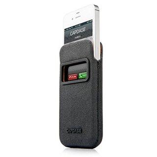 【ポケットタイプケース】 CAPDASE iPhone 4S/4 Smart Pocket Posh ID  ブラック/オレンジ