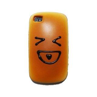 【甘い香り付きパンのケース】 GauGau iPhone 4 SOFT BREAD STYLE Skin  Laugh