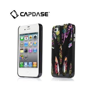 【個性的なハードケース】 CAPDASE iPhone 4/4S Karapace Jacket: Xtreme Sigma  Black/Black