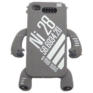 【手足の付いたソフトケース】 YETTIDE iPhone 4S/4 Character Sillicone Skin - Ni28  Grey