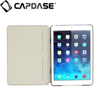 【スタンド機能付き横開きケース】 CAPDASE iPad Air 用 Sider Baco  Black/Black