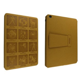 【スタンド機能付きケース】 GISSAR iPad mini 3/2/1 Athena Case  Light Brown