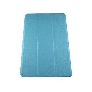【スタンド機能付き】 GISSAR iPad mini 3/2/1 フラワーデザイン レザー調ケース  Blue