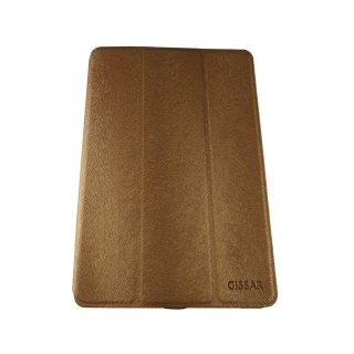 【スタンド機能付き】 GISSAR iPad mini 3/2/1 ホルダータイプ レザー調ケース  Brown