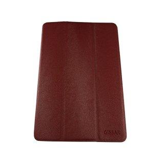 【スタンド機能付き】 GISSAR iPad mini 3/2/1 ホルダータイプ レザー調ケース  Red