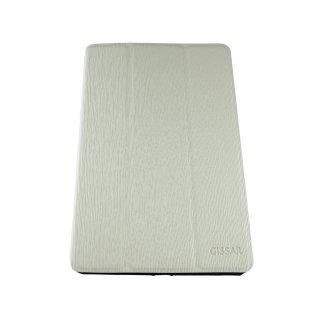 【スタンド機能付き】 GISSAR iPad mini 3/2/1 ヴァーティカルパターン ケース  White