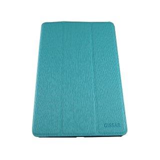 【スタンド機能付き】 GISSAR iPad mini 3/2/1 ヴァーティカルパターン ケース  Blue