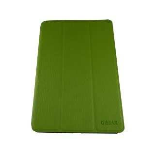 【スタンド機能付き】 GISSAR iPad mini 3/2/1 ヴァーティカルパターン ケース  Green