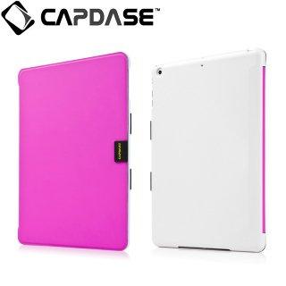 【スタンド機能付きケース】 CAPDASE iPad mini 3/2/1 用 Sider Elli  Fuchsia/White