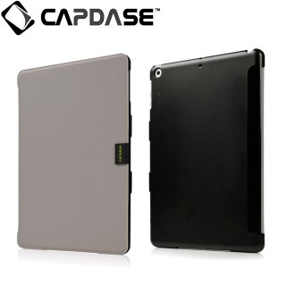 【スタンド機能付きケース】 CAPDASE iPad mini 3/2/1 用 Sider Elli  Dark Grey/Black