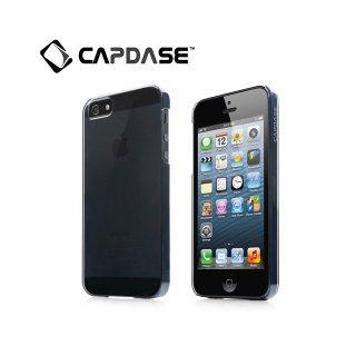 【薄くて透明なハードケース】 CAPDASE iPhone SE/5s/5 Karapace Protective Case Finne DS  Tinted Black