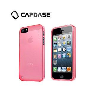 【定番のソフトケース】 CAPDASE iPhone SE/5s/5 用 Soft Jacket 2 XPOSE  Clear Red