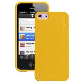 【ラメの入ったソフトケース】 CAPDASE iPhone SE/5s/5 用 Soft Jacket 2 XPOSE Sparko  Solid Yellow