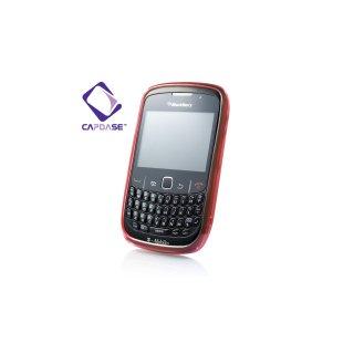 【定番のソフトケース】 CAPDASE BlackBerry Curve 9300 Soft Jacket 2 XPOSE  Red