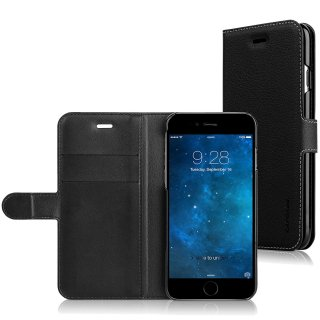 【iPhone6s/6 ケース 人気のスタンド機能付き手帳型】 CAPDASE iPhone 6s  用 Folder Case Sider Eternity  Black