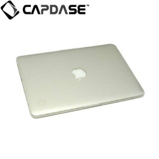 【クリアータイプのハードケース】 CAPDASE Crystal Case MacBook Pro 13 inch with Retina  Clear