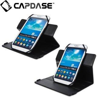 【スタンド機能付き横開き型ケース】 CAPDASE 7〜8インチタブレット対応 汎用ケース Lapa 220A