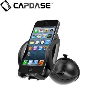【スマートフォン用車載フォルダー】CAPDASE カーマウントホルダー・フライヤー ブラック/ブラック