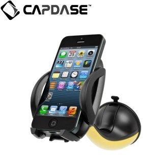 【スマートフォン用車載フォルダー】CAPDASE カーマウントホルダー・フライヤー イエロー/ブラック