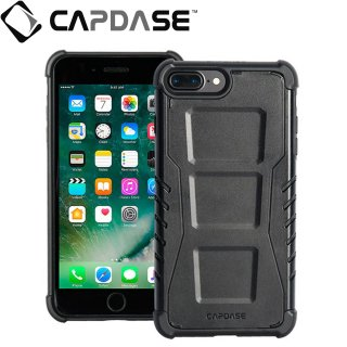 【CAPDASE iPhone7 Plus ケース アーマースーツ】CAPDASE iPhone7 Plus Armor Suit Rider Jacket Black