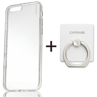 【iPhone7 ケース ソフトタイプ】 CAPDASE iPhone 7 専用 Soft Jacket Xpose ソフトジャケット エクスポーズ  クリアー