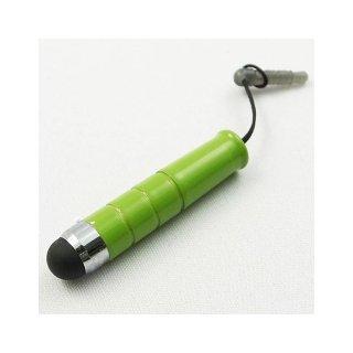 【イヤホンジャックに差し込み可能なスタイラス】 GauGau Capacitive Touch Stylus mini  Lime Green