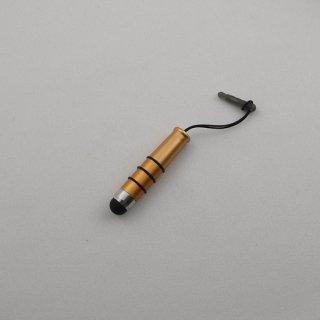 【イヤホンジャックに差し込み可能なスタイラス】 GauGau Capacitive Touch Stylus2 mini  Orange