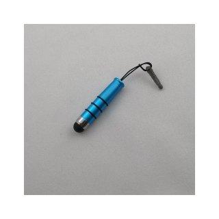 【イヤホンジャックに差し込み可能なスタイラス】 GauGau Capacitive Touch Stylus3 mini  Metallic WBlue