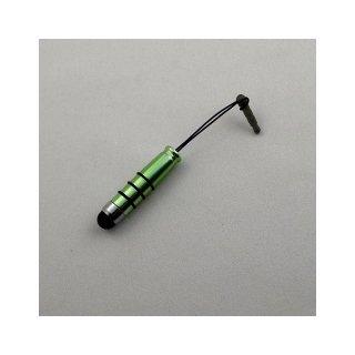 【イヤホンジャックに差し込み可能なスタイラス】 GauGau Capacitive Touch Stylus3 mini  Metallic Green