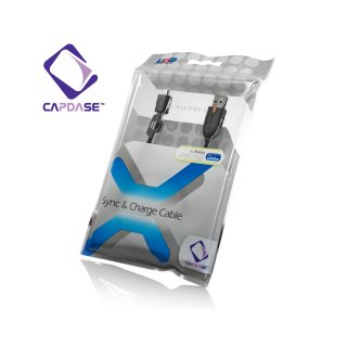 【充電・データ通信用ケーブル】CAPDASE Sync & Charge Cable USB-microUSB for Nokia