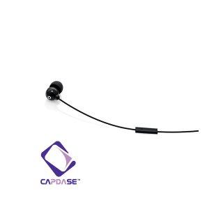 CAPDASE iPhone3G / 3GS / 4 用ハンズフリー モノラル ヘッドフォン