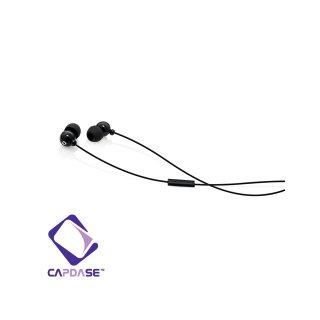 CAPDASE iPhone3G / 3GS / 4 用ハンズフリー ステレオ ヘッドフォン