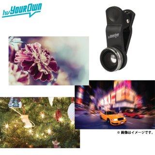 【スマホの撮影が楽しくなるレンズ】 hvYourOwn スマートフォン、タブレット用 Photo Lens Kit