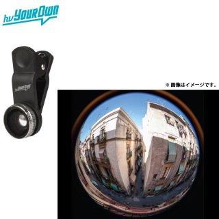 【装着が簡単な魚眼レンズ】 hvYourOwn スマートフォン、タブレット用 Photo Lens Super Fisheye