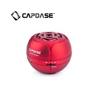 【スマートフォン、タブレット用外部スピーカー】 CAPDASE Portable Speaker Mini Beat - Mono  Red