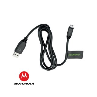 【モトローラ純正 USB-microUSBケーブル】 Motorola 純正 micro USB Data Cable ECOMOTO