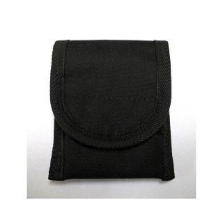 【丈夫なスリーブタイプケース】 GauGau Universal Mobile Pouch Ver. 2.0  Canvas-Nylon Black