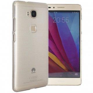 【Huawei GR5 クリアーケース】 GauGau Huawei GR5 Rear Cover Case  Clear (透明なハードケース)