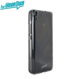 【スリムタイプソフトケース】 hvYourOwn Huawei Y6 GummiShell MOYA LITE グミ・シェル モヤ ライト  クリアー