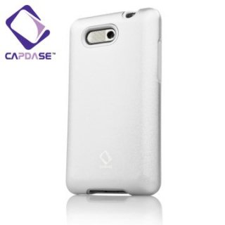 CAPDASE EMOBILE S31HT/HTC Aria 用 Alumor Metal Case with ScreenGuard  Silver