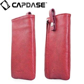 【ループ付きケース】 CAPDASE スマートフォン 汎用ケース Novo Pocket Klassic  Red