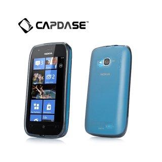 【定番のソフトケース】 CAPDASE Nokia Lumia 710 Soft Jacket 2 XPOSE  Clear Black