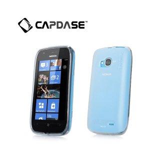 【定番のソフトケース】 CAPDASE Nokia Lumia 710 Soft Jacket 2 XPOSE  Clear White