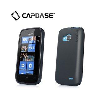 【定番のソフトケース】 CAPDASE Nokia Lumia 710 Soft Jacket 2 XPOSE  Solid Black