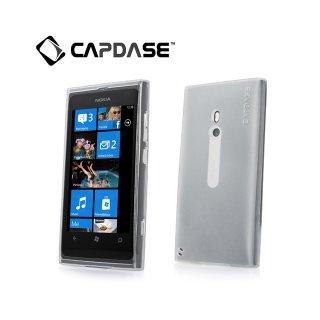 【定番のソフトケース】 CAPDASE Nokia Lumia 800 Soft Jacket 2 XPOSE  Clear White